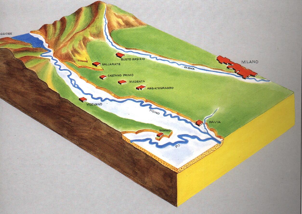Il ticino e il suo parco - Letto di un fiume ...