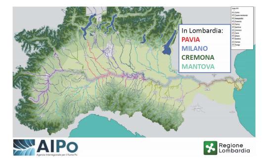 Cartina Lombardia Pavia.Piano Di Emergenza Comunale Comune Di Pavia