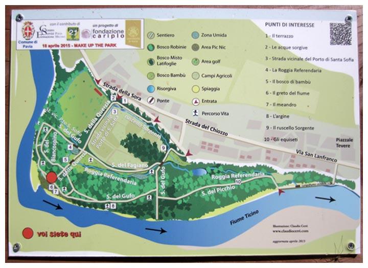 Parco Della Sora Comune Di Pavia