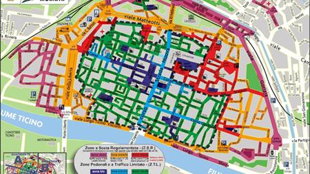 Pavia Cartina Lombardia.Ztl Comune Di Pavia